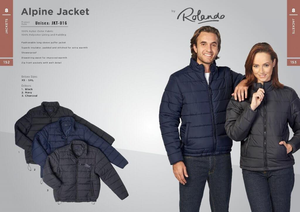 Rolando Alpine Jacket JKT-016