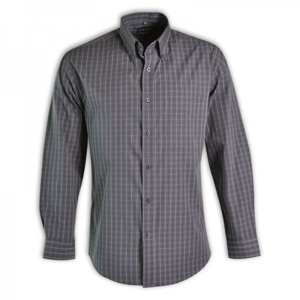 Vangard Cameron Shirt - Long Sleeve (Check Design 3) 4