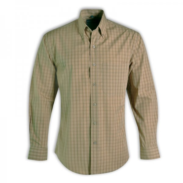 Vangard Cameron Shirt - Long Sleeve (Check Design 3) 2