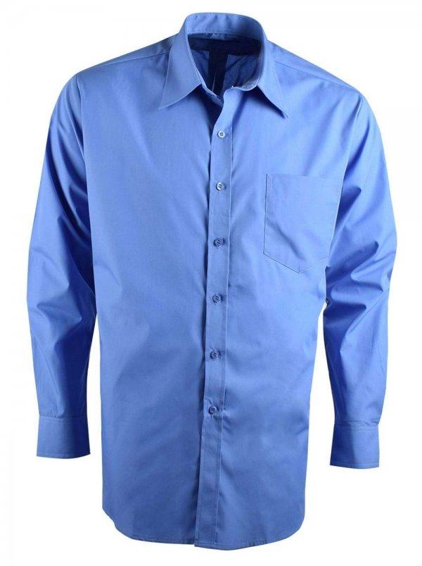 Rolando Poplin Mens Long Sleeve Shirt 2