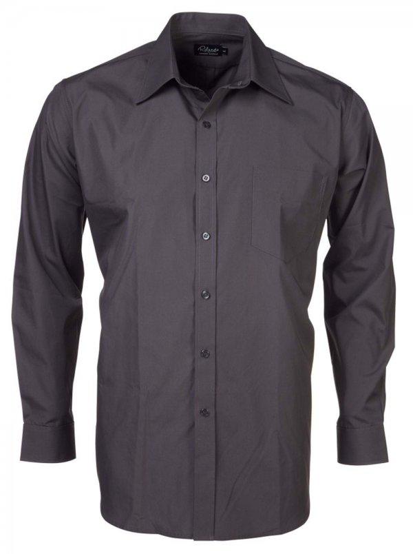 Rolando Poplin Mens Long Sleeve Shirt 6