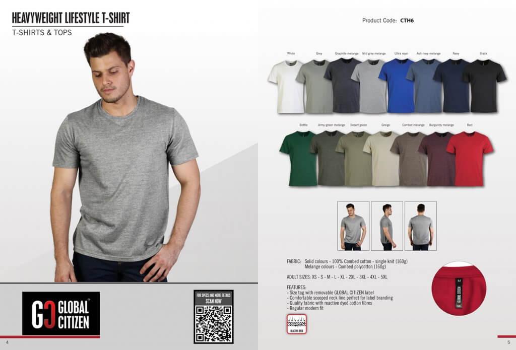 Global Citizen Heavyweight Lifestyle T-Shirt 23