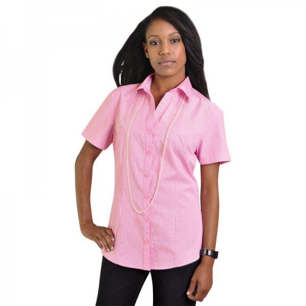 Duchess Donna Blouse - Short Sleeve (Stripe Design 5) 1