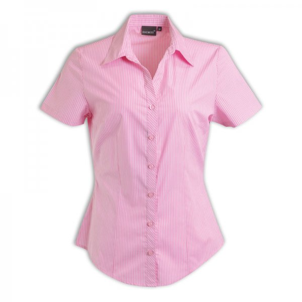Duchess Donna Blouse - Short Sleeve (Stripe Design 5) 2