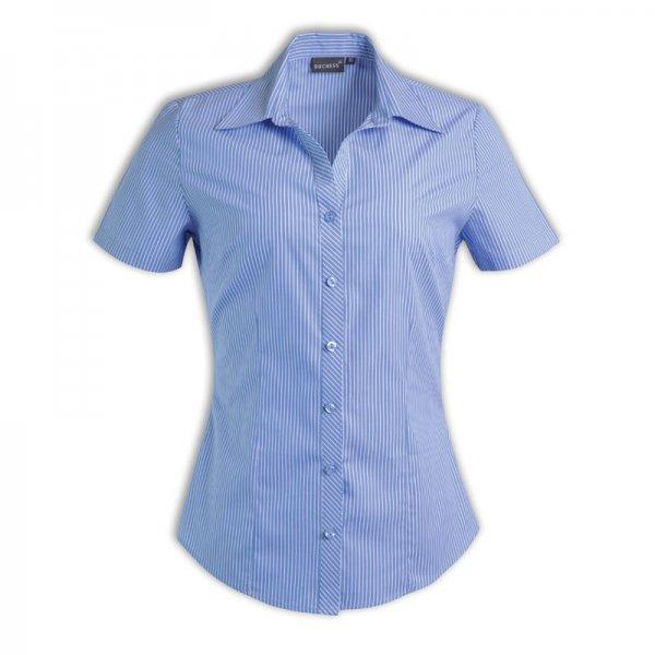 Duchess Donna Blouse - Short Sleeve (Stripe Design 5) 3