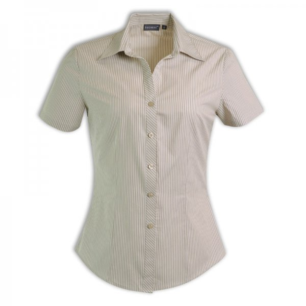 Duchess Donna Blouse - Short Sleeve (Stripe Design 5) 4