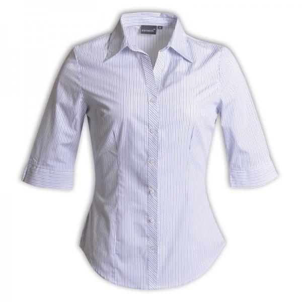Duchess Donna Blouse - 3/4 Sleeve (Stripe Design 8) 2