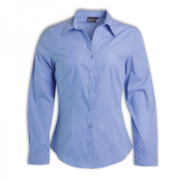 Duchess Donna Blouse - Long Sleeve (Stripe Design 5) 3