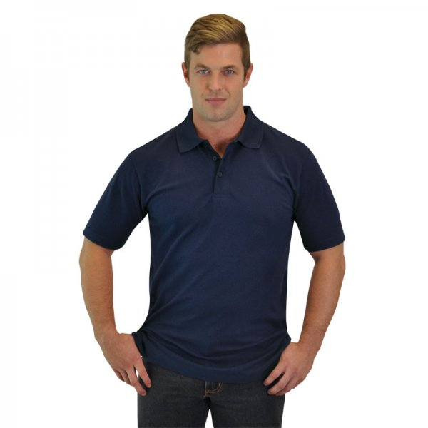 Global Citizen Mens Classic Heavy Weight Polo 1