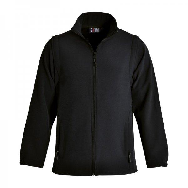 Global Citizen Zip Off Sleeve Soft Shell Jacket 3