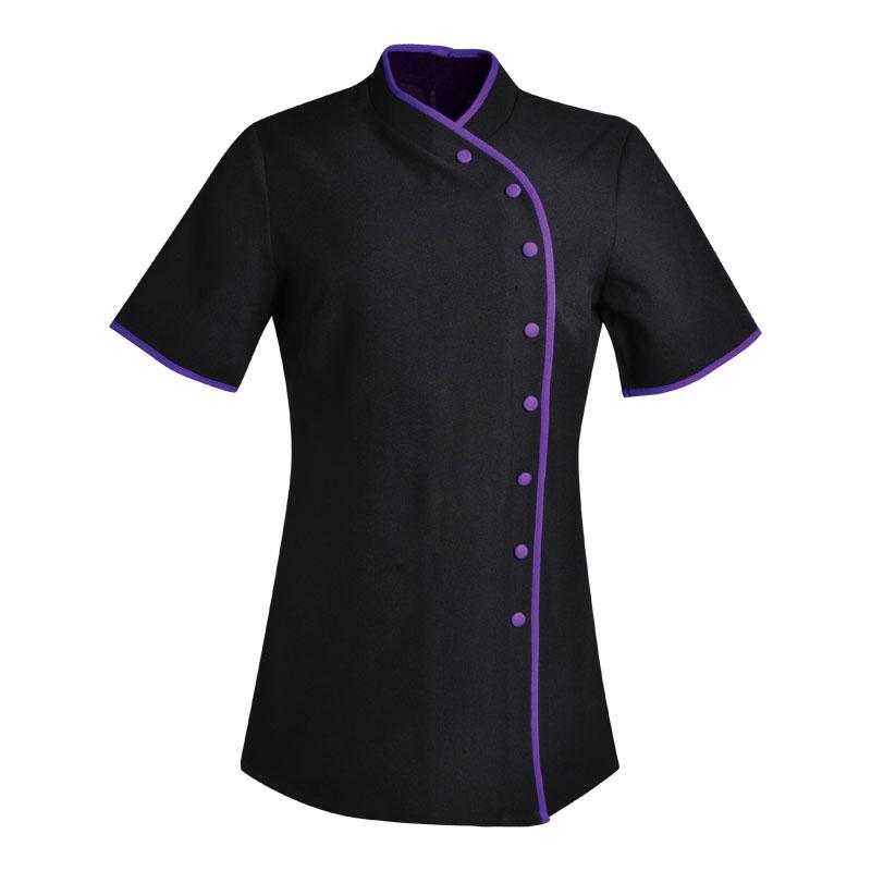 Lut2mst blackpurple skyflower clothing for Spa uniform south africa