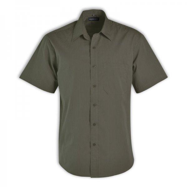 Vangard Matthew Shirt - Short Sleeve (Stripe Design 4) 3
