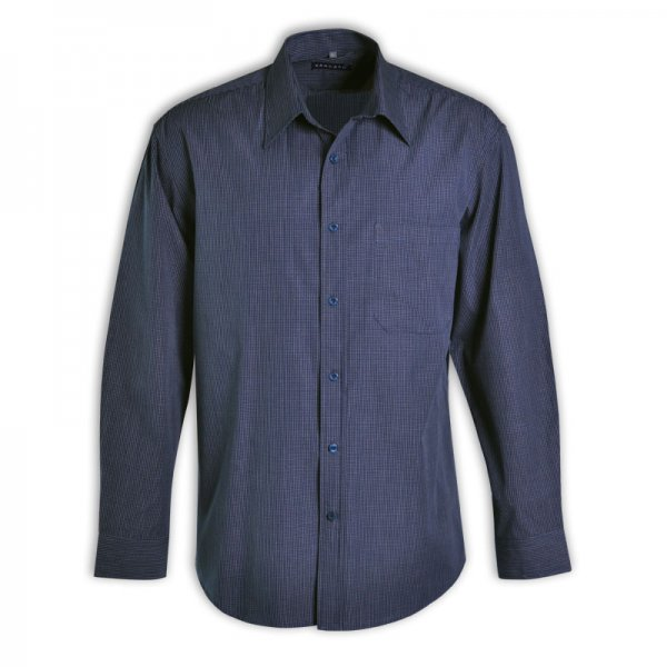 Vangard Matthew Shirt - Long Sleeve (Check Design 1) 2