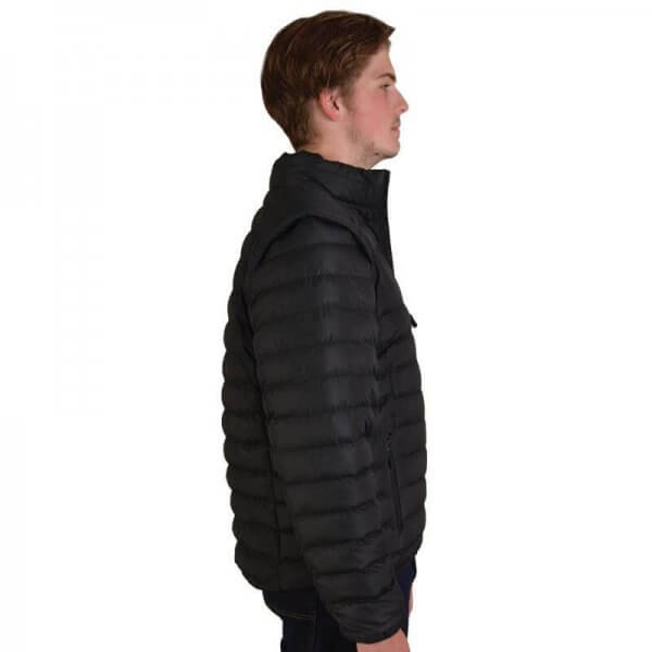 Global Citizen Mens Zip Off Puffer Jacket 4