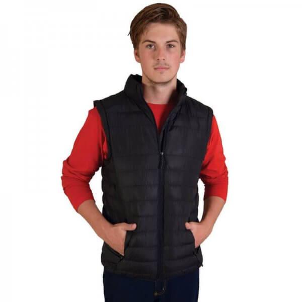 Global Citizen Mens Zip Off Puffer Jacket 3