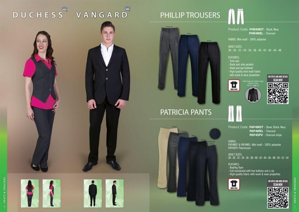 Vangard Philip Trousers by SkyFlower Clothing