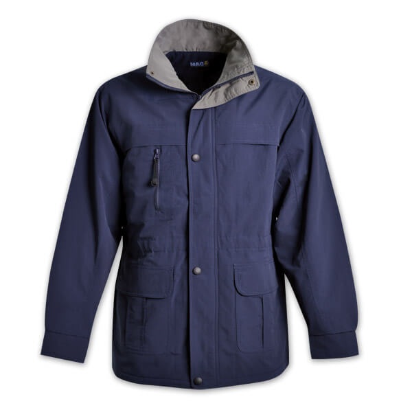 MAC Contrast Trim Parka Jacket 2