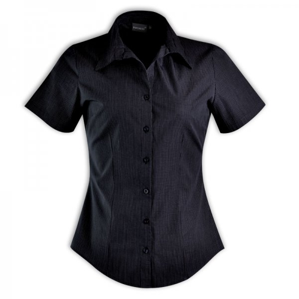 Duchess Roselina Blouse - Short Sleeve (Check Design 1) 3