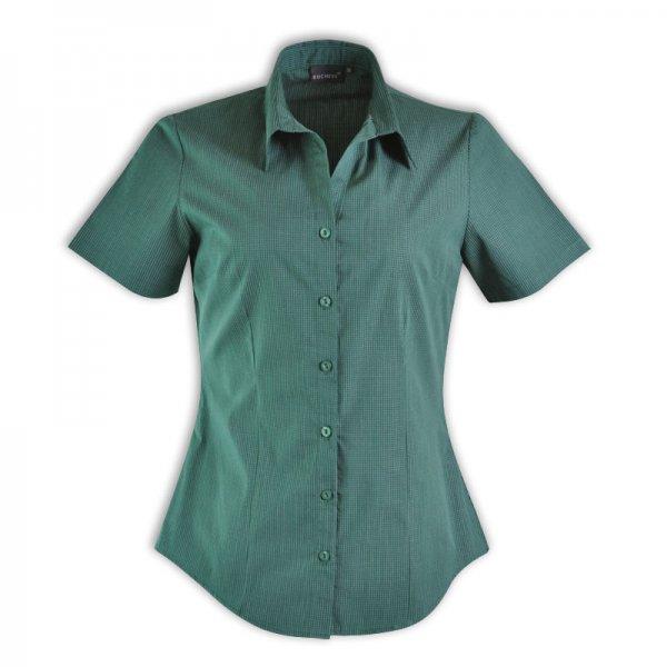 Duchess Roselina Blouse - Short Sleeve (Check Design 1) 2
