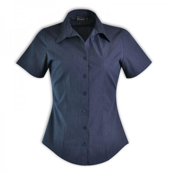 Duchess Roselina Blouse - Short Sleeve (Check Design 1) 4