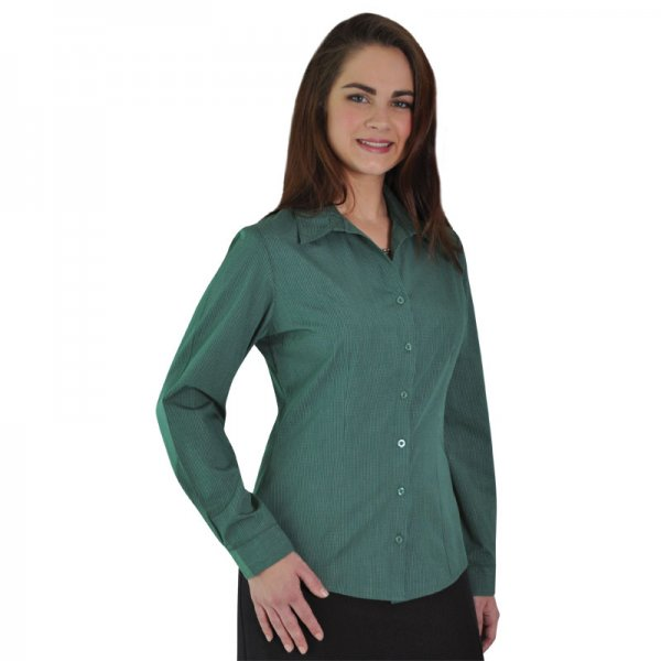 Duchess Roselina Blouse - Long Sleeve (Check design 1) 1