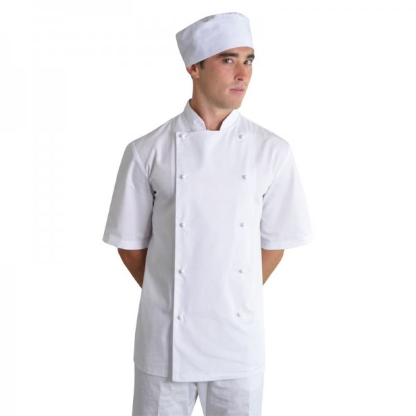 Vangard Stanley Unisex Chef Top Short Sleeve 1