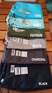 TANC Scrub Colours