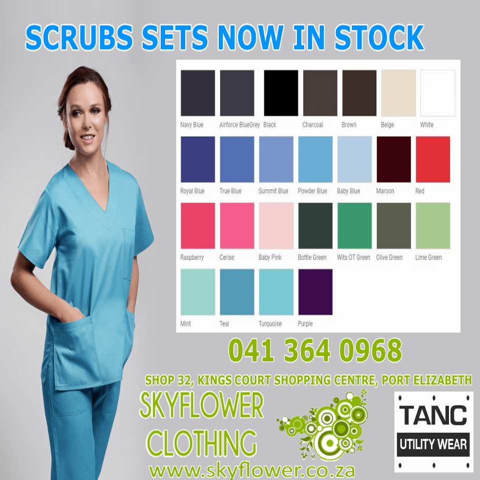 TANC Scrubs Set 8