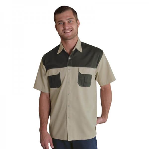 Oakhurst Heavy Duty Two-Tone Bush Shirt 1
