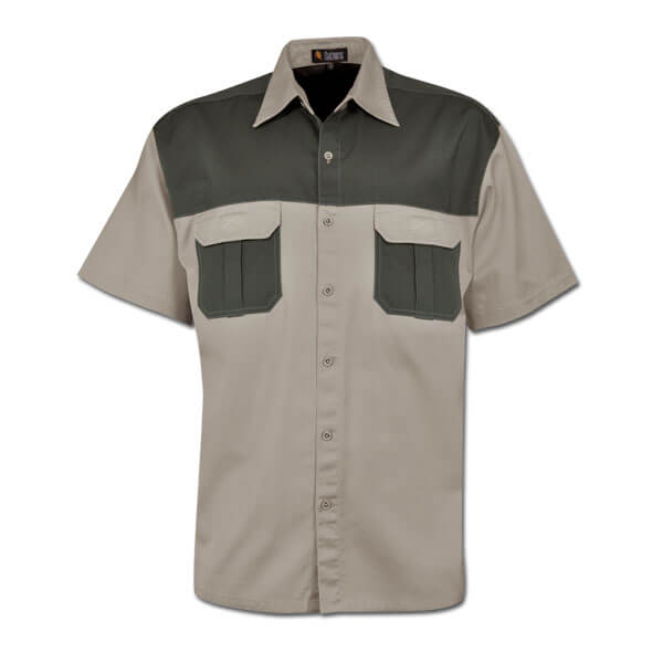 Oakhurst Heavy Duty Two-Tone Bush Shirt 2
