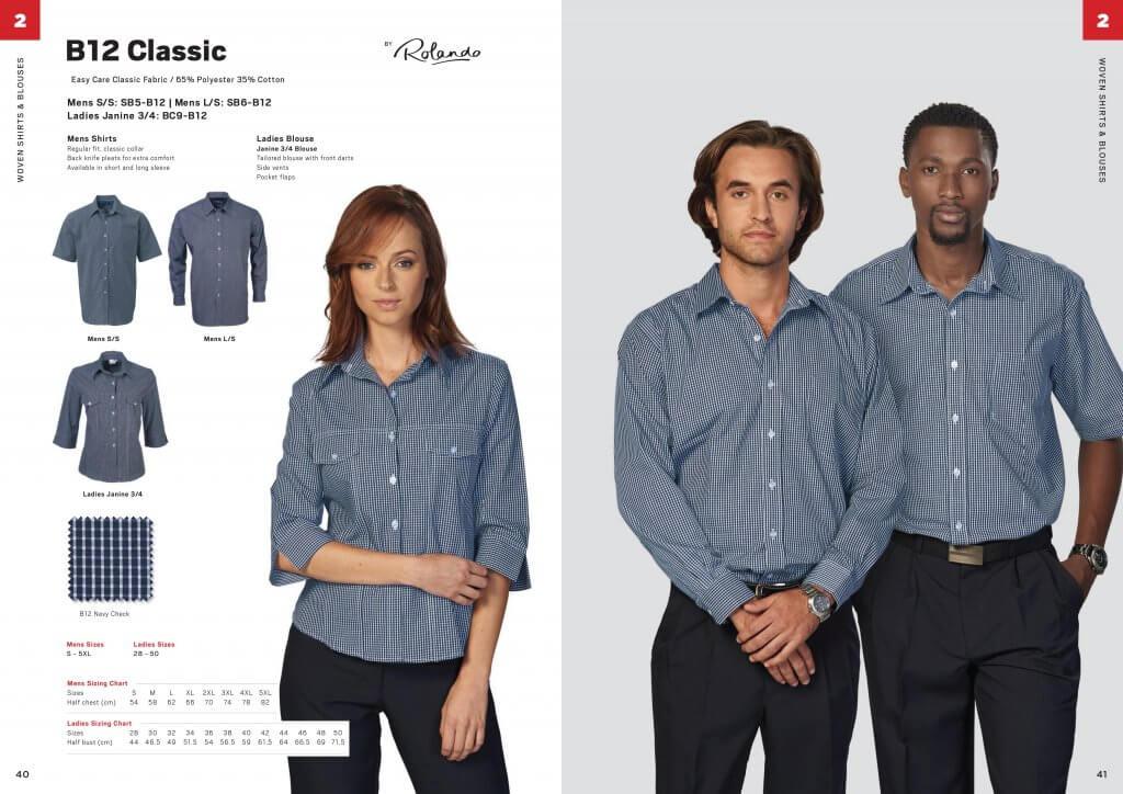 Rolando B12 Classic Mens Short Sleeve Shirt 4