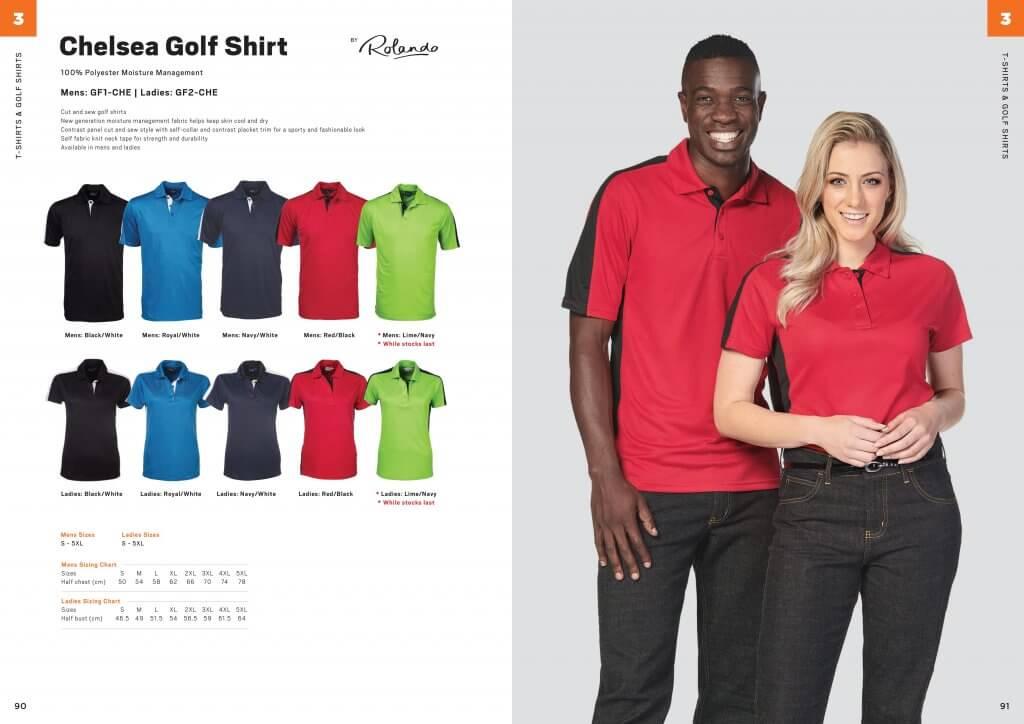 Rolando Ladies Chelsea Golfer 7