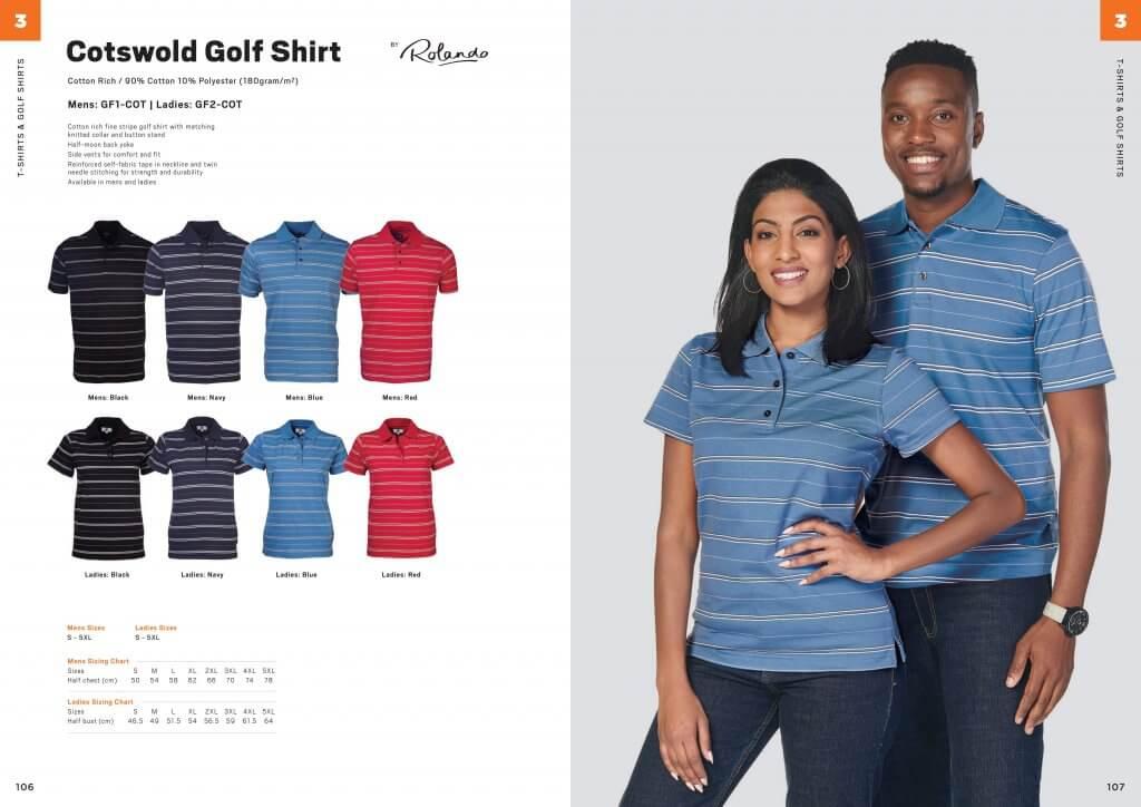 Rolando Mens Cotswold Golfer 7