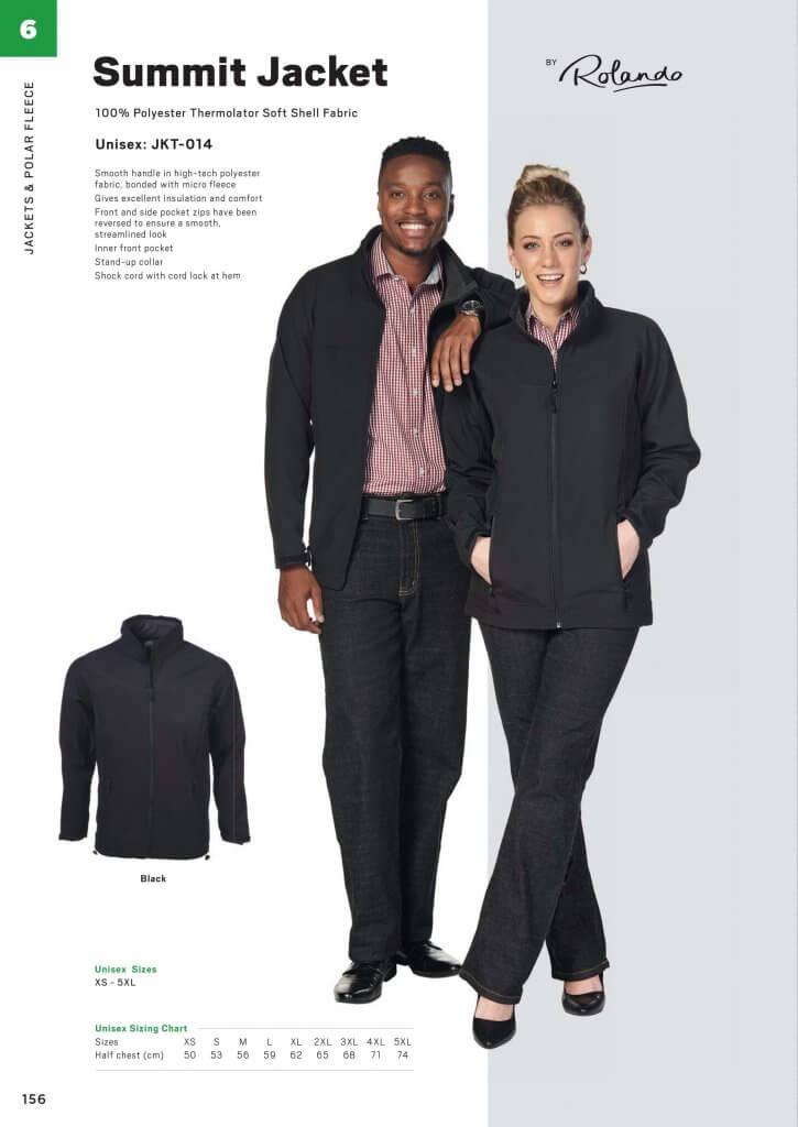 Rolando Summit Unisex Softshell Jacket 5
