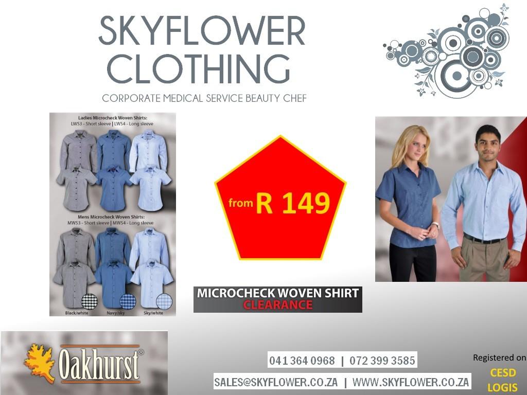 skyflower special oakhurst woven shirts